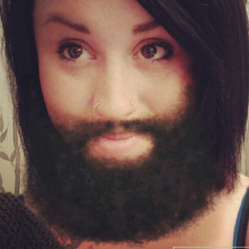 Finalllyyyyy im able to grow a beard Rick Ross would be proud of :D (Taken with instagram)