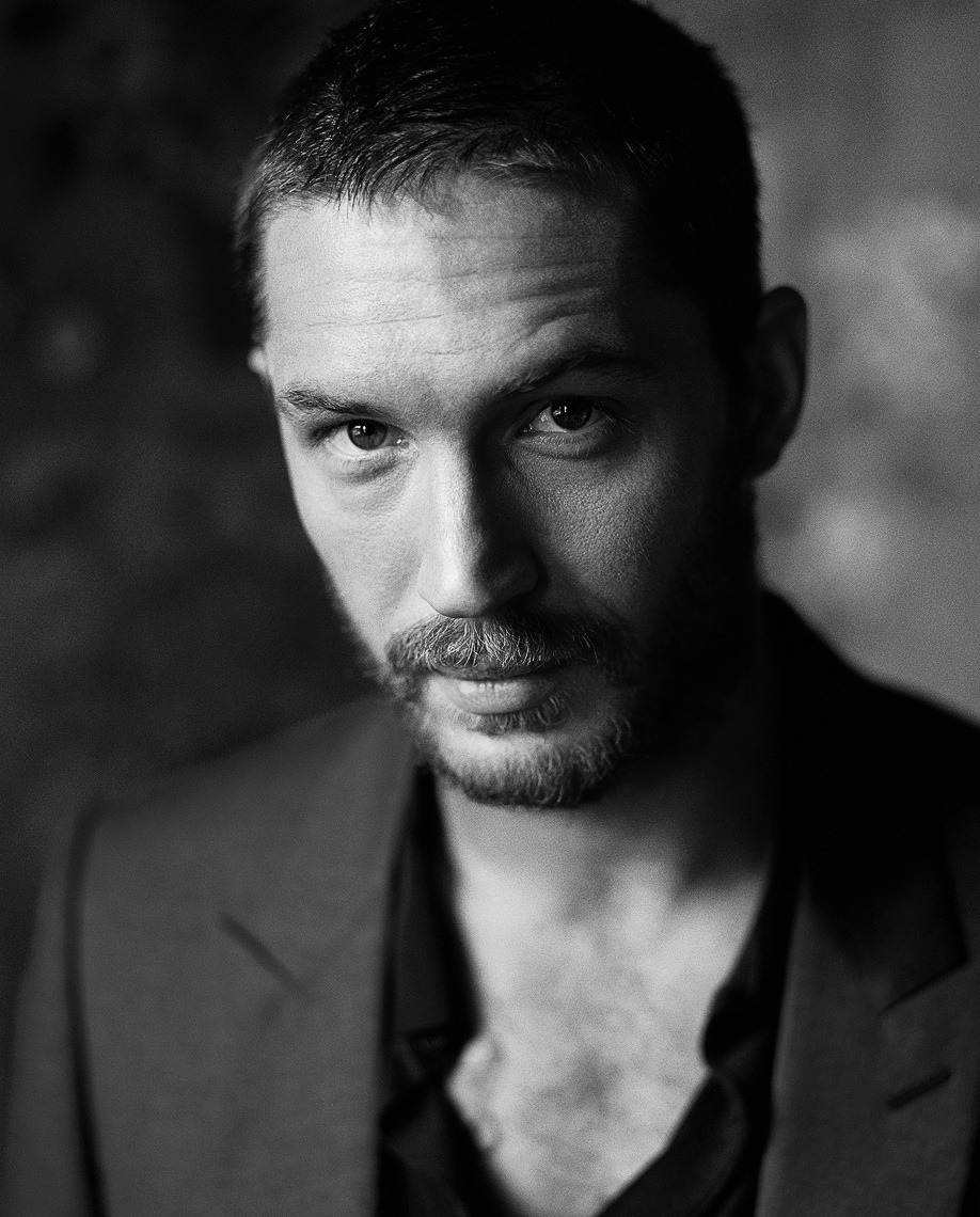 Fantastic portrait of Tom Hardy joshlpadilla:  Hardy.