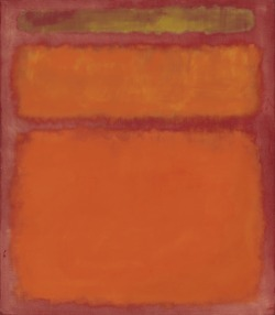 "aahbc:  Rothko Leads a Record Contemporary Art Sale In a surge of bidding unprecedented in art market history, Christie's Tuesday evening sale of contemporary art took in $388.5 million, the highest amount ever in that field.   A world auction record was set for a work of contemporary art when Mark Rothko's ""Orange, Red, Yellow"" painted in 1961 sold for just under $87 million  http://www.nytimes.com/2012/05/10/arts/10iht-melikian10.html?_r=1"