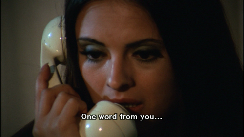 Soledad Miranda She killed in ecstasy Jess Franco 1970   And I'll knock your lights out