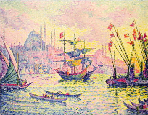 View of Constantinople - Paul Signac, 1907