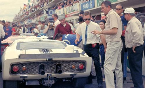 Carroll Shelby at Le Mans 1965