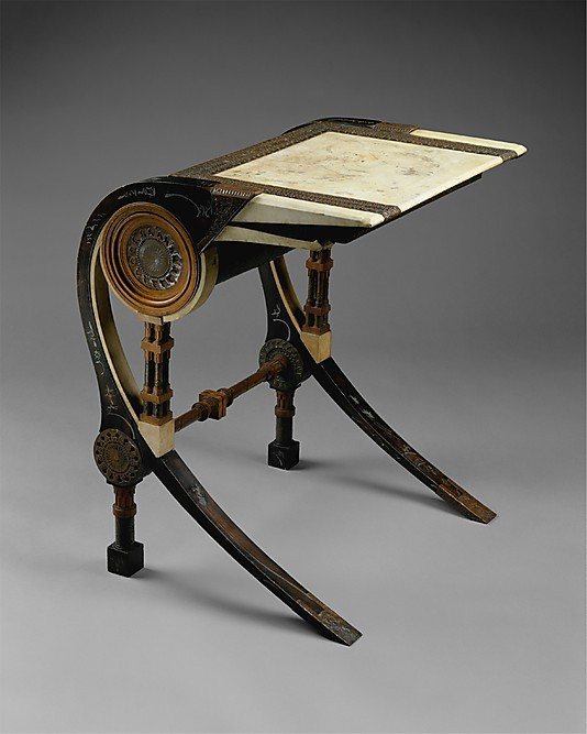 omgthatartifact:  Desk Carlo Bugatti, 1902 The Metropolitan Museum of Art