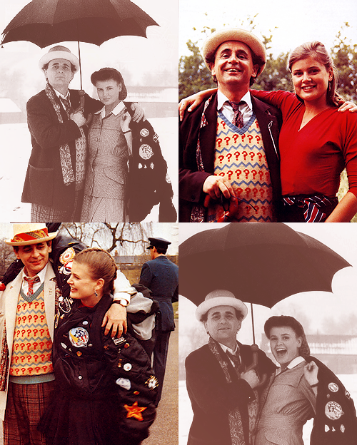 such-heights:  doctor who meme | four friendships (03) | seven and ace  The Doctor: Ace! Where do you think you're going?Ace: Perivale…The Doctor: Ah yes, but by which route? The direct route with Glitz? Or the scenic route? Well, do you fancy a quick trip around the twelve galaxies and then back to Perivale in time for tea?Ace: ACE!The Doctor: But there are three rules! One: I'm in charge.Ace: Whatever you say, Professor!The Doctor: Two: I'm not 'the Professor', I'm the Doctor!Ace: Whatever you want!The Doctor: And the third…Well, I'll think up the third by the time we get back to Perivale.