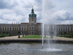Charlottenburg Palace in Berlin, Germany, June 2007.