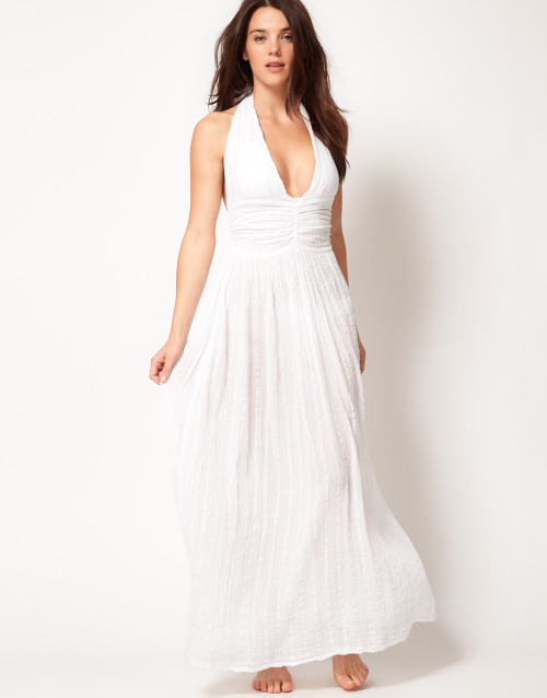 ASOS Cheesecloth Halter Maxi Beach DressMore photos & another fashion brands: bit.ly/JgPXRU