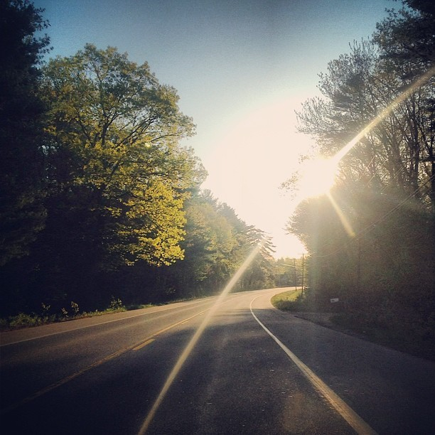 6am drive (Taken with instagram)