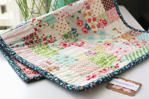 Could make from fabric scraps!