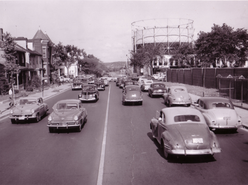 M & 11th Street S.E., Washington, DC 1957