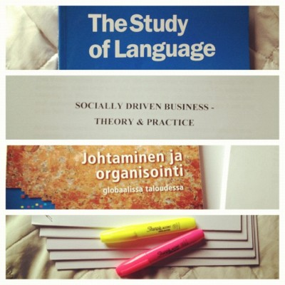 cause saturday is a fun day is a study day :)  (Taken with instagram)