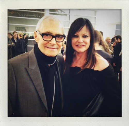 Thinking of the amazing vidal sassoon (RIP) we saw him with his wife ronnie only a few months ago in LA.one hair legend sharing his love for the other hair legend on this blog.kisses inez http://www.vogue.nl/the-dutch-files/blog/christiaan/tot-ziens-vidal