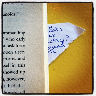 #book #bookmark #read (Taken with instagram)