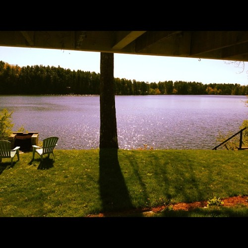 herberta:  #maine #taylorpond (Taken with Instagram at Herbert Abode )