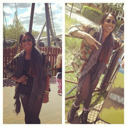 Thorpe park!!! #RandomMovements #FamilyDayOut (Taken with instagram)