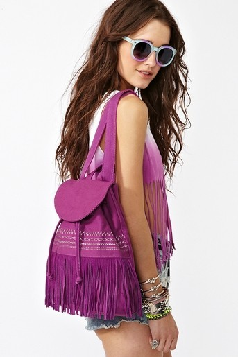 (via My Style) Fringed Backpack from Nastygal.com