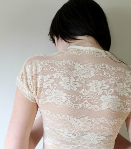 (via My Style) lace detain