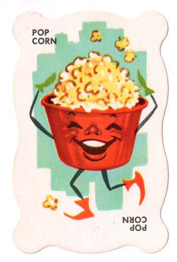 jumbledplanet:  Card from Dandy Candy Card Game, mid 1960s. From Jumbled Planet's personal collection.
