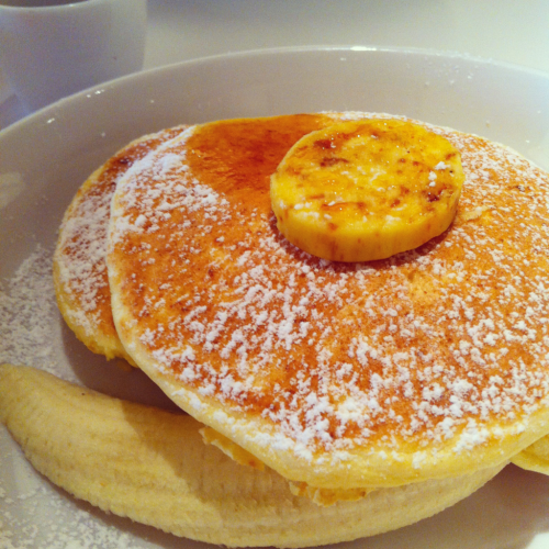 Yummm. Pancakes of Bills.