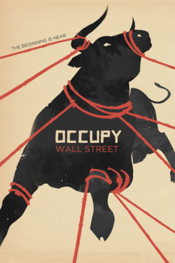 newmanology:  Occupy Wall Street Poster Source: Up Studio