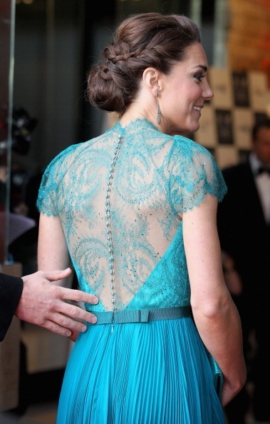 Everything about this is SO beautiful. Kate Middleton, the dress, the color, the hair.