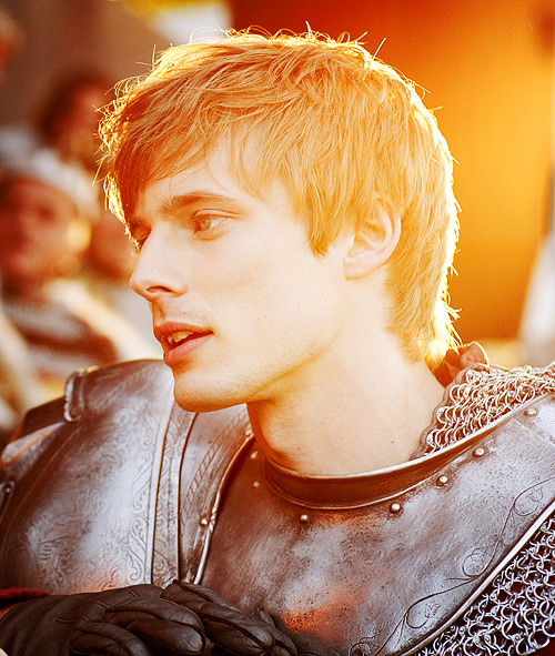 Bradley James as Arthur in BBC's Merlin (not my edit - I just found it on the wonderful implement known as google!)