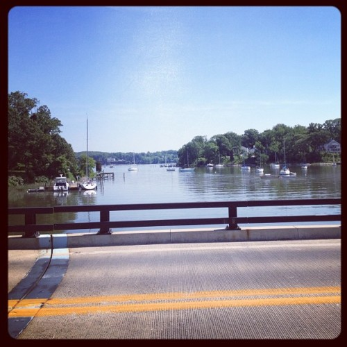 This view running over Ridgely ave never gets old (Taken with instagram)