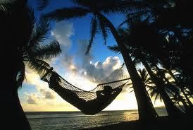 And we will sway in a hammock and make each other laugh, touch each others skin, look into each others eyes and not care at all what is happening in the rest of the world….
