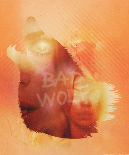 timeywimeyness:  I am the bad wolf. I create myself.