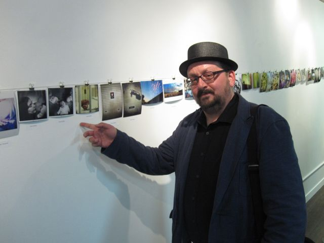 Some of my work in the Mobilography show at Photohaus Gallery. It'll be hanging for a few weeks if you missed the opening.   http://photohausgallery.com/  Photo courtesy John Ward Leighton