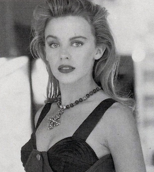 Kylie Minogue, Q Magazine, 1991.  Photo: LFI