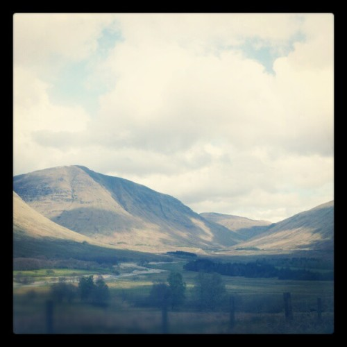 Scotland IS gorgeous! (Taken with instagram)