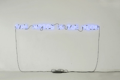 """five words in bue neon"" by liudvikas buklys (2007) compare"