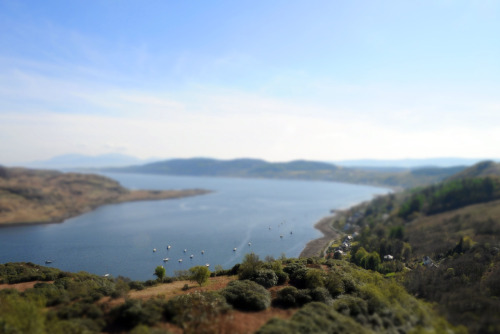 Tighnabruaich and the Kyles of Bute, Scotland