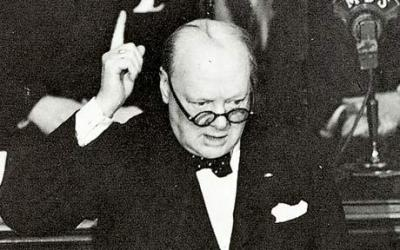 "13th May 1940: Churchill's ""blood, toil, tears and sweat"" speechOn this day in 1940 British Prime Minister Winston Churchill made his famous speech in the House of Commons. The speech was his first to the Commons since becoming Prime Minister on 10th May. He gave the speech during the Battle of France of the Second World War and it provided a great morale boost in the United Kingdom.  ""I have nothing to offer but blood, toil, tears and sweat. We have before us an ordeal of the most grievous kind. We have before us many, many long months of struggle and of suffering.You ask, what is our aim? I can answer in one word: Victory. Victory at all costs - Victory in spite of all terror - Victory, however long and hard the road may be, for without victory there is no survival"""
