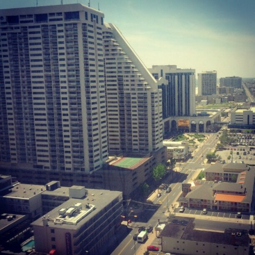 View from the hotel window #Tropicana #atlanticcity #jersey (Taken with Instagram at Tropicana West Towers)