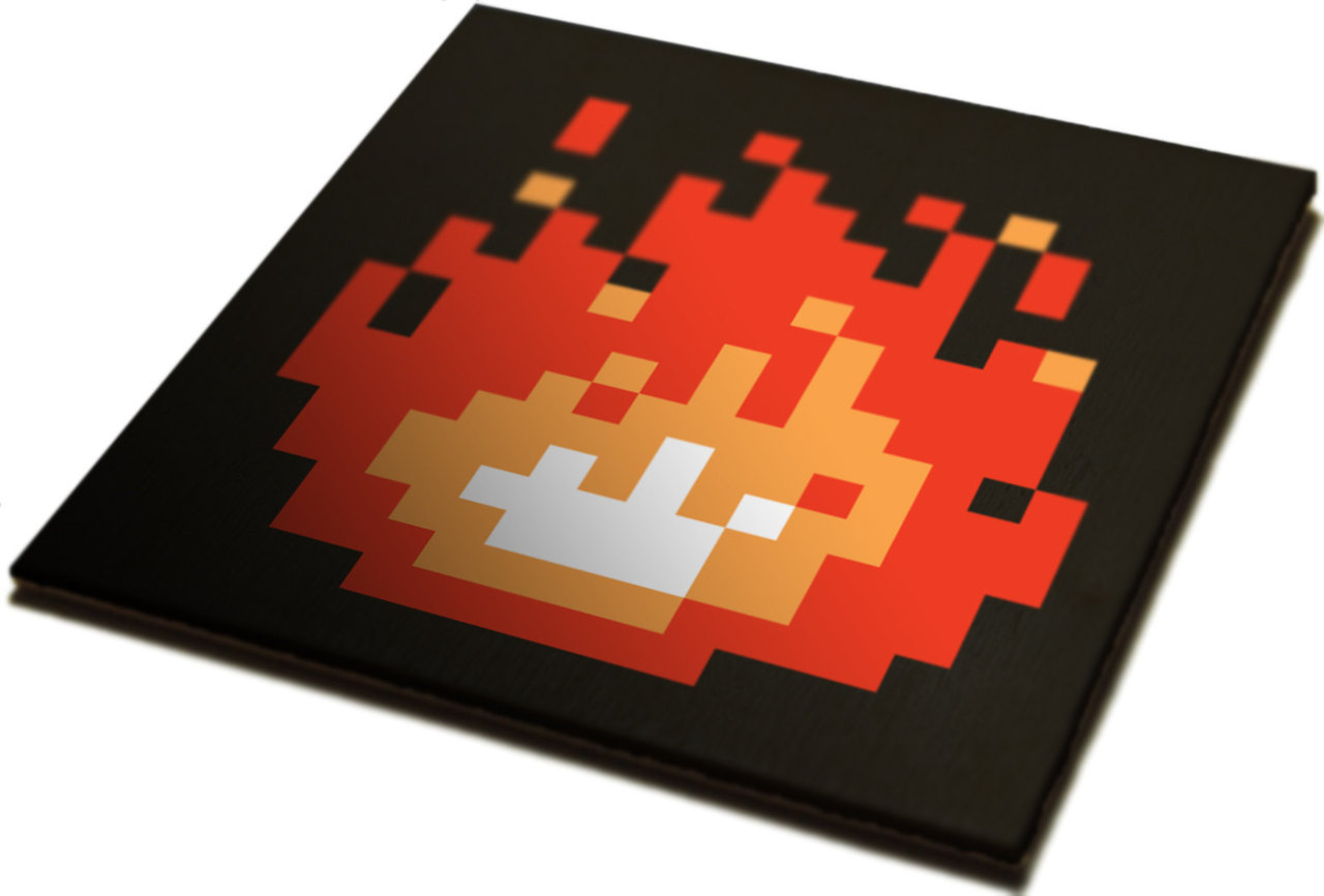 it8bit:  Zelda Fireplace Art Custom sizes to fit your non-working/decorative fireplace available at James Bit.