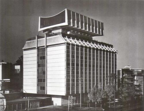 icaronycteris:  Enrique de la Mora, Alberto González Pozo y Leonardo Zeevaert: Edificio para Seguros Monterrey, Polanco, México D.F., 1960