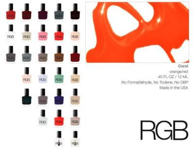 "Love the Pantone 2012 Color of The Year? Try RGB Cosmetics ""Coral"" !  It's our top pick! Available for $16 at www.rgbcosmetics.com"