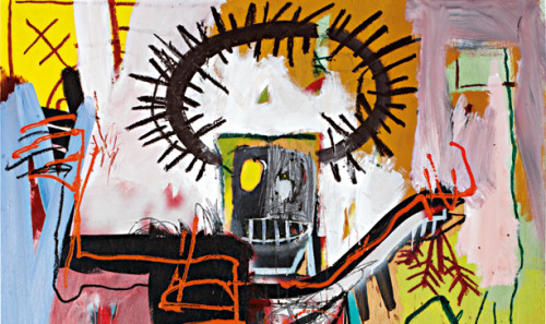 "Jean-Michel Basquiat, ""Untitled,"" 1981 (detail)"