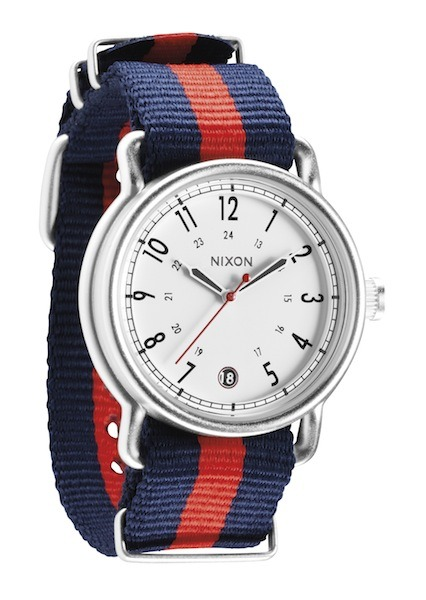 Watch of the Week:The Nixon S.A.M. at Barneys The Nixon S.A.M. at Barneys: A stylish looking casual watch at a smart price. It's a great option for any sunny time of year and certainly wouldn't look out of place at that upcoming Memorial Day barbeque - so get one in time for yours.