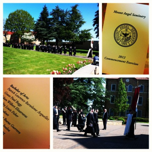 Yay! Congraduations Rence! #mtangelseminary #oregon  (Taken with instagram)