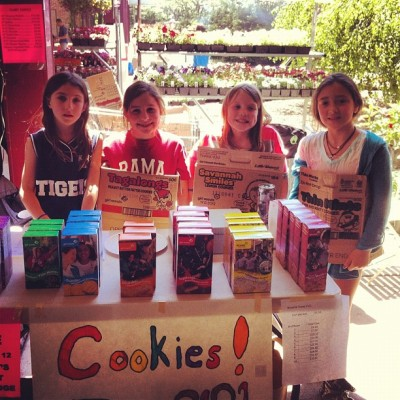 Entrepreneurs in Training | Brownie Troop 2121 (Taken with instagram)