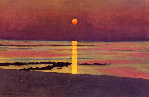 deadpaint:  Felix Valloton, Sunset