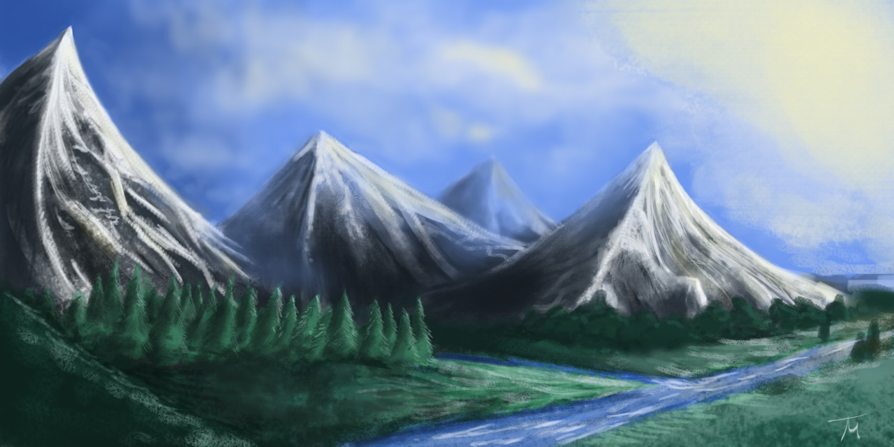 Speed Painting from May 2nd. Only allowed myself 30 minutes to do this one.