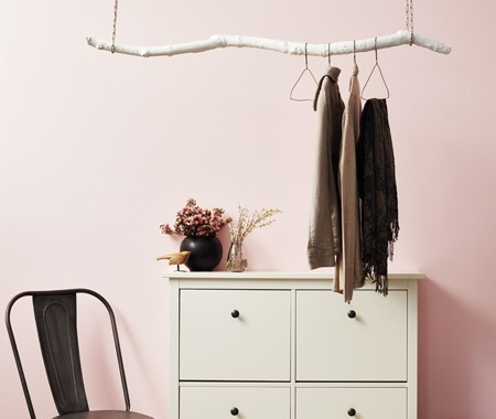 (via DIY Hanging Coat Rack | House & Home)