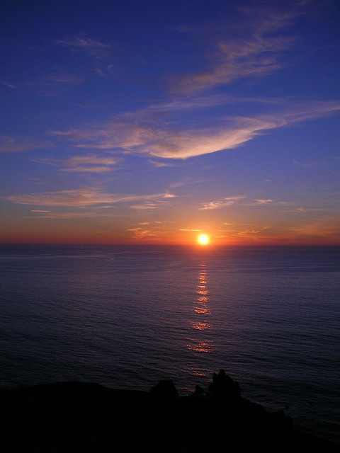 Sunset Over Ocean, Sonoma Coast by ((brian)) on Flickr