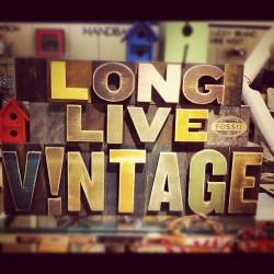 Long Live Vintage (Taken with instagram)