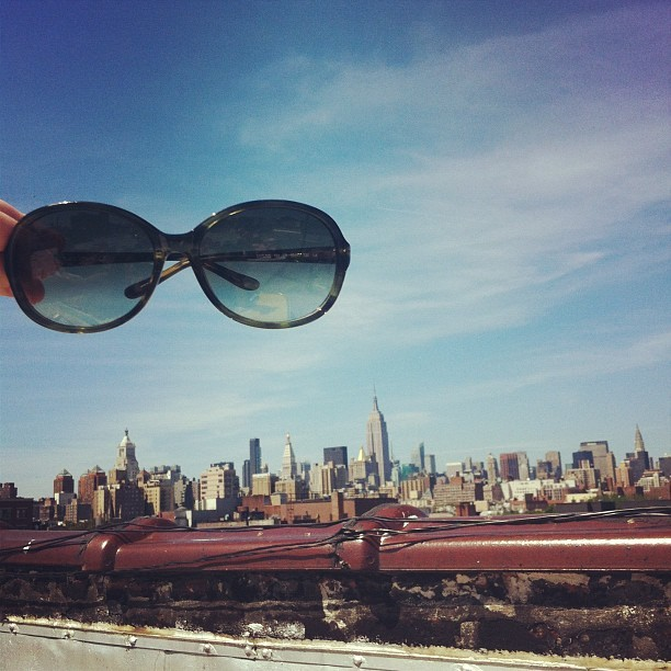 floating sunnies. (Taken with instagram)