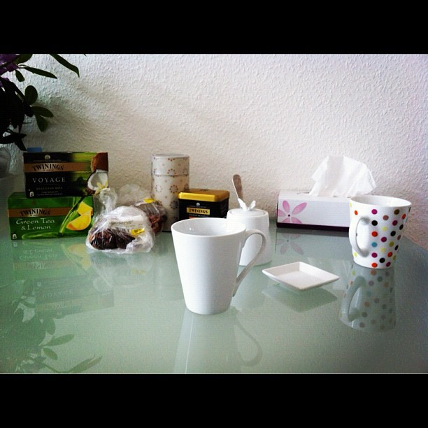 Take 133 - tea time (Taken with instagram)