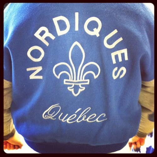 Old School-Just in from Quebec! #nhl #hockey #icehockey #vintage #retro #quebec #nordiques #oldschool #coloradoavalanche #quebecnordiques (Taken with instagram)